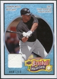 2008 Upper Deck Heroes Jersey Light Blue #170 Vernon Wells /200