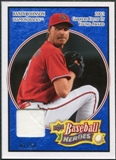 2008 Upper Deck Heroes Jersey Navy Blue #5 Randy Johnson /50