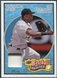 2008 Upper Deck Heroes Patch Light Blue #68 Hanley Ramirez 25/25