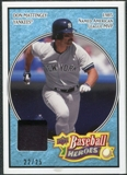 2008 Upper Deck Heroes Patch Light Blue #125 Don Mattingly 22/25