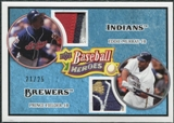 2008 Upper Deck Heroes Patch Light Blue #181 Eddie Murray Prince Fielder /25