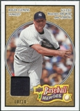 2008 Upper Deck Heroes Patch Beige #123 Roger Clemens /10