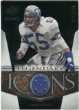 2008 Upper Deck Icons Legendary Icons Jersey Silver #LI4 Brian Bosworth /150