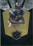 2008 Upper Deck Icons Rookie Brilliance Jersey Silver #RB1 Donnie Avery /199