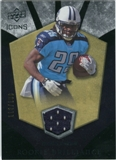 2008 Upper Deck Icons Rookie Brilliance Jersey Silver #RB5 Chris Johnson /199