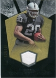 2008 Upper Deck Icons Rookie Brilliance Jersey Silver #RB8 Darren McFadden /199