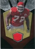 2008 Upper Deck Icons Rookie Brilliance Jersey Silver #RB10 Glenn Dorsey /199