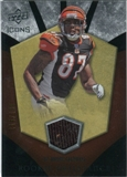 2008 Upper Deck Icons Rookie Brilliance Jersey Silver #RB14 Andre Caldwell /199