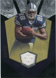 2008 Upper Deck Icons Rookie Brilliance Jersey Silver #RB15 Felix Jones /199