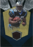 2008 Upper Deck Icons Rookie Brilliance Jersey Silver #RB20 Jonathan Stewart /199