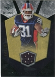 2008 Upper Deck Icons Rookie Brilliance Jersey Silver #RB27 James Hardy /199