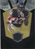 2008 Upper Deck Icons Rookie Brilliance Jersey Silver #RB28 Matt Forte /199