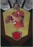 2008 Upper Deck Icons Rookie Brilliance Jersey Silver #RB29 Matt Ryan /199