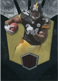 2008 Upper Deck Icons Rookie Brilliance Jersey Silver #RB32 Rashard Mendenhall /199