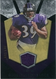 2008 Upper Deck Icons Rookie Brilliance Jersey Silver #RB33 Ray Rice /199