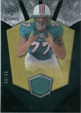2008 Upper Deck Icons Rookie Brilliance Jersey Gold #RB2 Jake Long /99