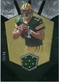 2008 Upper Deck Icons Rookie Brilliance Jersey Gold #RB3 Brian Brohm /99