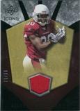 2008 Upper Deck Icons Rookie Brilliance Jersey Gold #RB13 Early Doucet /99