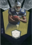 2008 Upper Deck Icons Rookie Brilliance Jersey Gold #RB15 Felix Jones /99