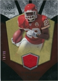 2008 Upper Deck Icons Rookie Brilliance Jersey Gold #RB17 Jamaal Charles /99