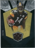 2008 Upper Deck Icons Rookie Brilliance Jersey Gold #RB24 Limas Sweed /99