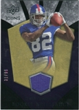 2008 Upper Deck Icons Rookie Brilliance Jersey Gold #RB26 Mario Manningham /99