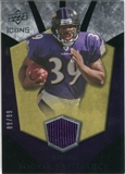 2008 Upper Deck Icons Rookie Brilliance Jersey Gold #RB33 Ray Rice /99