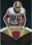2008 Upper Deck Icons NFL Icons Jersey Silver #NFL14 Clinton Portis /150