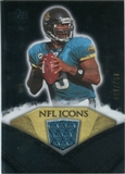 2008 Upper Deck Icons NFL Icons Jersey Silver #NFL15 David Garrard /150