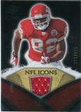 2008 Upper Deck Icons NFL Icons Jersey Silver #NFL19 Dwayne Bowe /150