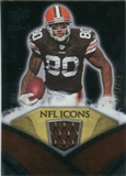 2008 Upper Deck Icons NFL Icons Jersey Silver #NFL29 Kellen Winslow /150