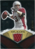 2008 Upper Deck Icons NFL Icons Jersey Silver #NFL35 Kurt Warner /150