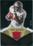 2008 Upper Deck Icons NFL Icons Jersey Gold #NFL11 Cadillac Williams /50