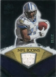 2008 Upper Deck Icons NFL Icons Jersey Gold #NFL20 Roy Williams WR /50