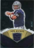 2008 Upper Deck Icons NFL Icons Jersey Gold #NFL46 Tony Romo /50
