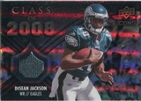 2008 Upper Deck Icons Class of 2008 Jersey Silver #CO2 DeSean Jackson /199