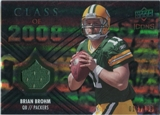 2008 Upper Deck Icons Class of 2008 Jersey Silver #CO3 Brian Brohm /199