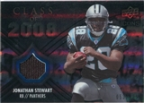 2008 Upper Deck Icons Class of 2008 Jersey Silver #CO6 Jonathan Stewart /199