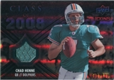 2008 Upper Deck Icons Class of 2008 Jersey Silver #CO8 Chad Henne /199