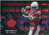2008 Upper Deck Icons Class of 2008 Jersey Silver #CO14 Early Doucet /199