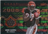2008 Upper Deck Icons Class of 2008 Jersey Silver #CO15 Andre Caldwell /199