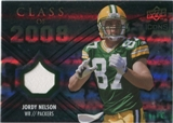 2008 Upper Deck Icons Class of 2008 Jersey Silver #CO21 Jordy Nelson /199