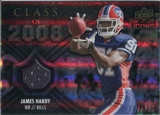 2008 Upper Deck Icons Class of 2008 Jersey Silver #CO28 James Hardy /199
