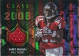 2008 Upper Deck Icons Class of 2008 Jersey Silver #CO34 Harry Douglas /199