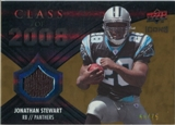 2008 Upper Deck Icons Class of 2008 Jersey Gold #CO6 Jonathan Stewart /75