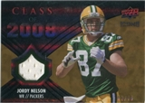2008 Upper Deck Icons Class of 2008 Jersey Gold #CO21 Jordy Nelson /75