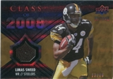 2008 Upper Deck Icons Class of 2008 Jersey Gold #CO24 Limas Sweed /75