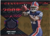 2008 Upper Deck Icons Class of 2008 Jersey Gold #CO28 James Hardy /75