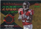 2008 Upper Deck Icons Class of 2008 Jersey Gold #CO34 Harry Douglas /75