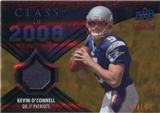 2008 Upper Deck Icons Class of 2008 Jersey Gold #CO35 Kevin O'Connell /75